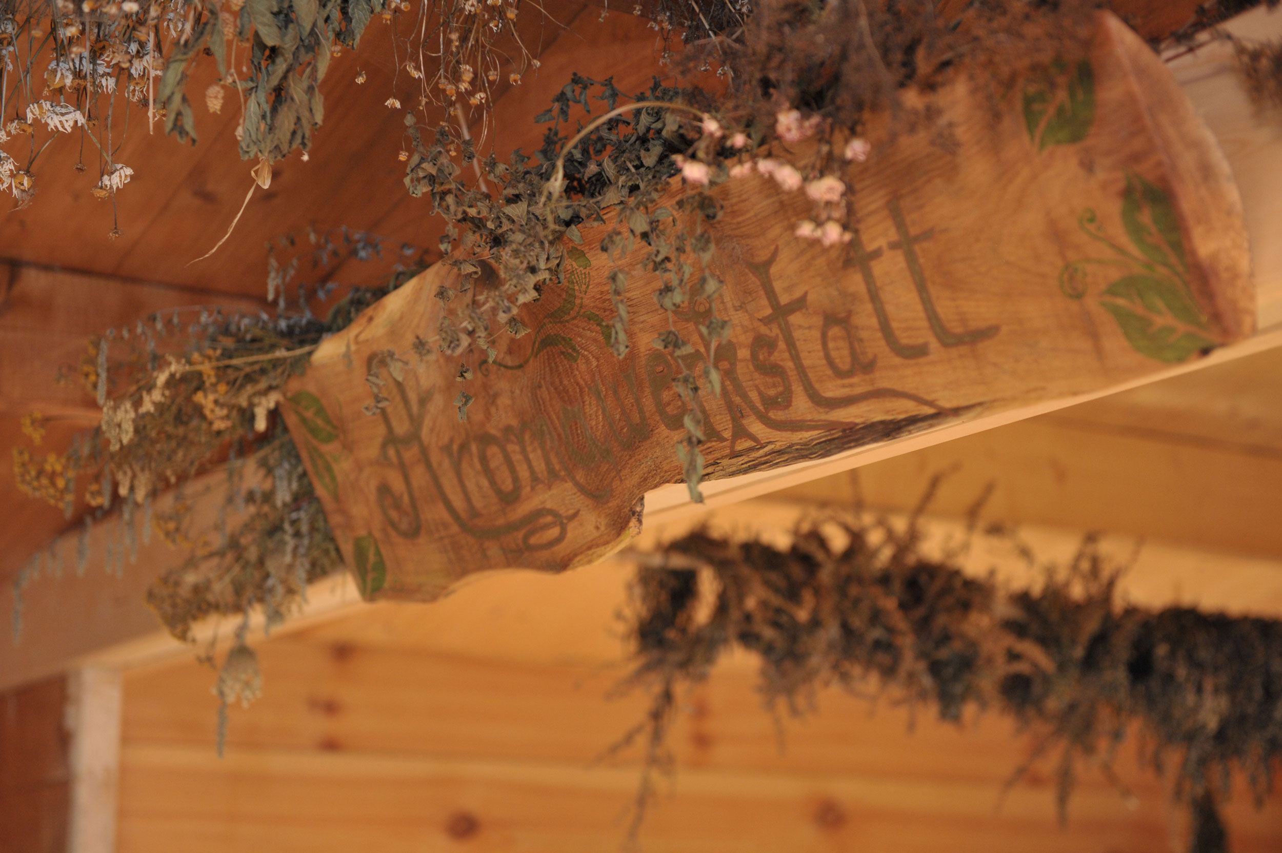 Foto aus der Aromawerkstatt