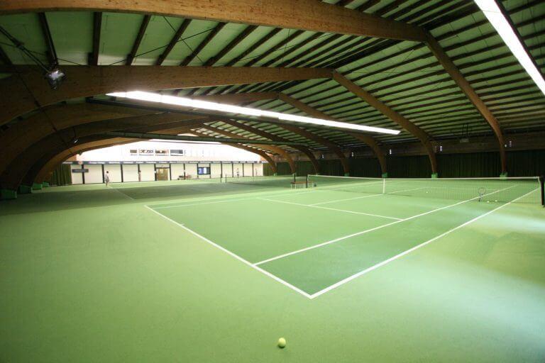 Foto der Tennishalle