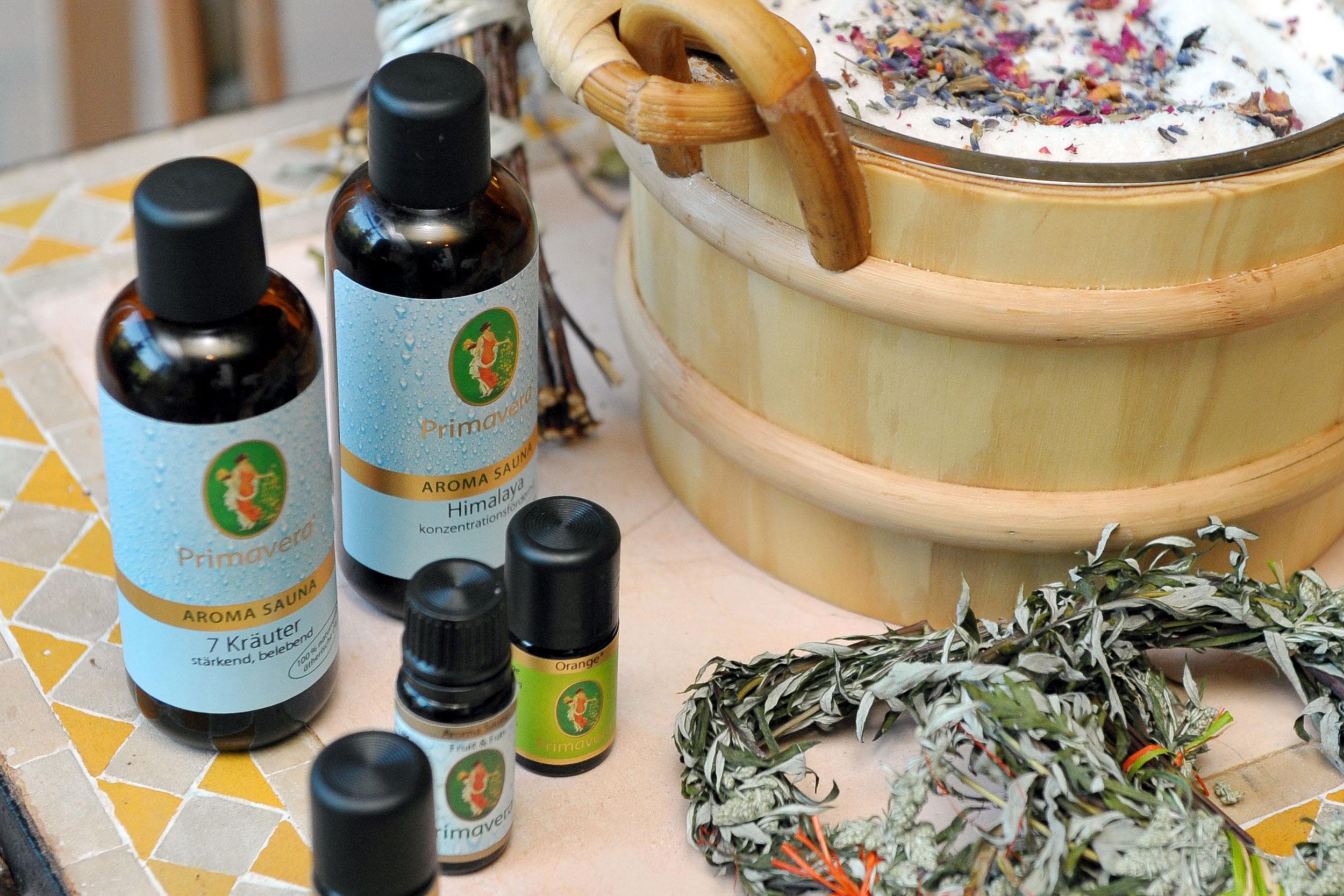 Primavera Aufguss Produkte