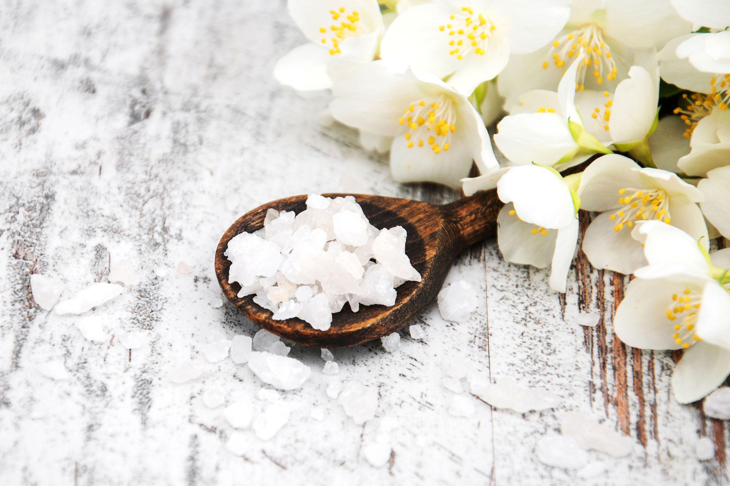 Biosalis Aufguss mit Salz Motiv